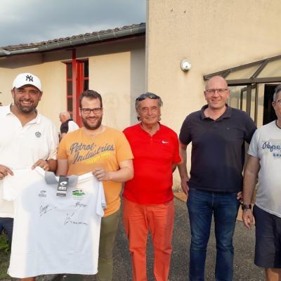 Soirée-Partenaires Pétank-Golf 7 Mai 2018