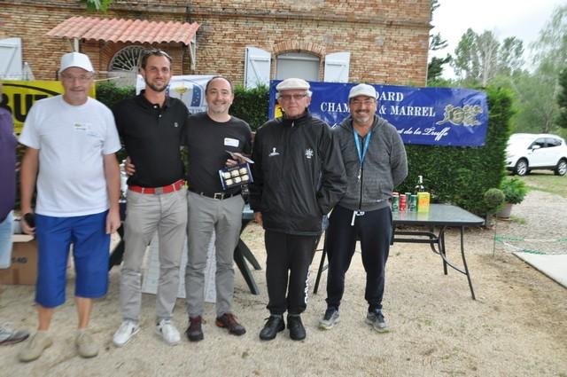 Les Landais, champions du golf, avec un +5 (pas mal)