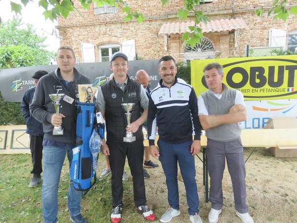 """Remise des prix 2ème place """"Pétank-Golf"""" 2018"""