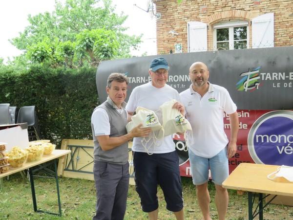 """Remise des prix 7ème place """"Pétank-Golf"""" 2018"""