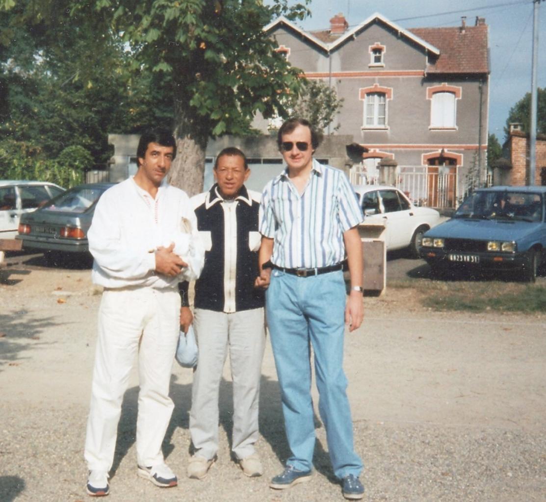 Henri Salvador en 1989, au national de Montauban en Occitanquie