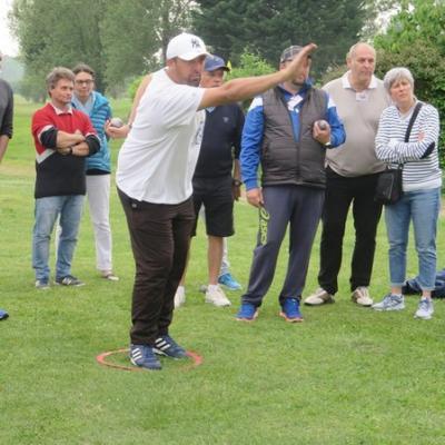 """Tir sautée """"Pétank-Golf 2018"""""""