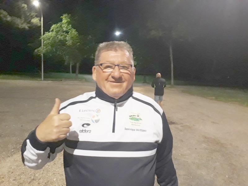 """Le Picard Dominique Valissant, présent à notre 2ème """"Pétank-Golf"""""""