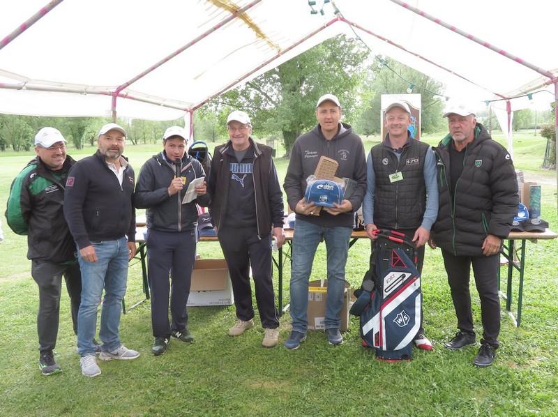 Equipe classée numéro 1 pétank-Golf 2019