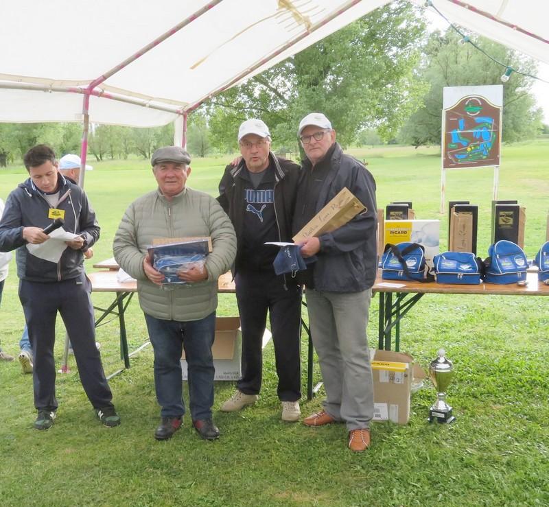équipe n°4 pétank-golf 2019