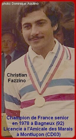 Champion de France pétanque senior tête-à-tête 1978