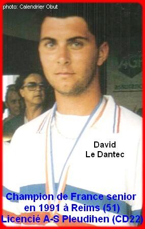 Champion de France pétanque senior tête-à-tête 1991