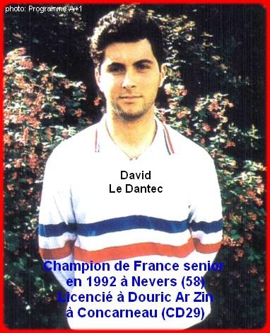Champion de France pétanque senior tête-à-tête 1992