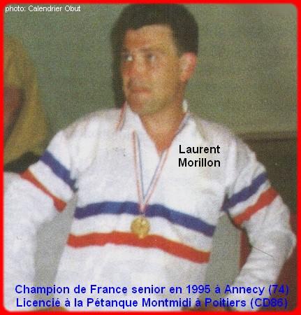 Champion de France pétanque senior tête-à-tête 1995