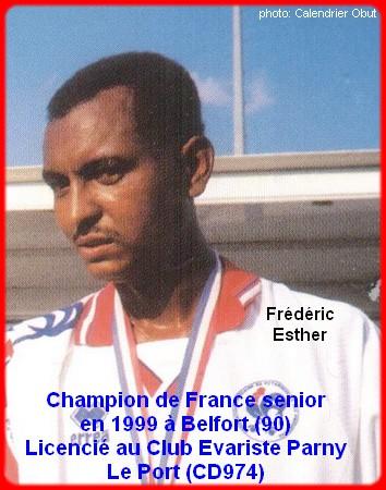 Champion de France pétanque senior tête-à-tête 1999