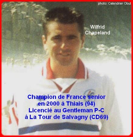 Champion de France pétanque senior tête-à-tête 2000