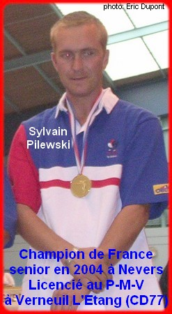 Champion de France pétanque senior tête-à-tête 2004