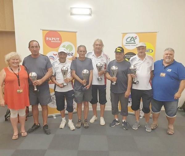 finalistes mondial des volcans d'Auvergne pétanque vétérans 2019