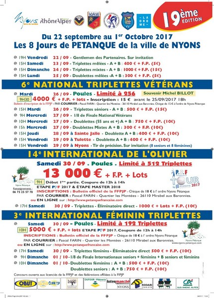 Affiche nyons