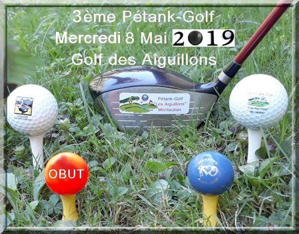 Affiche petank golf 2019