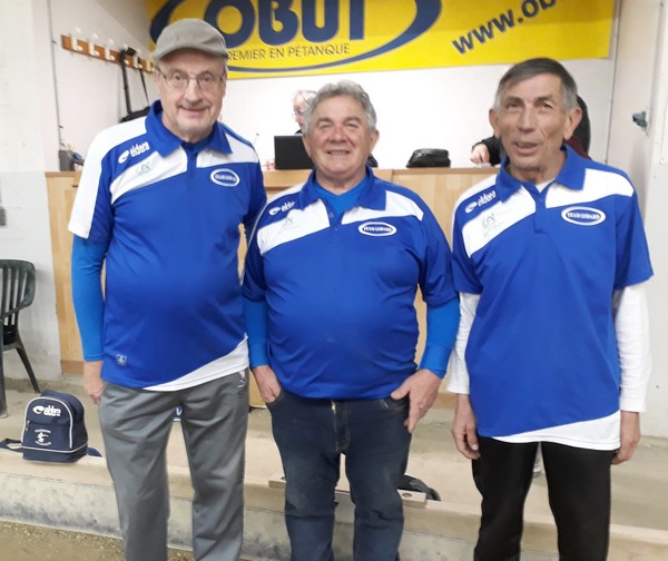 Team Godard Vainqueur masters pétanque Albi 2018