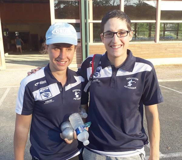 Anna Maillard et Nadège Baussian qualifiées 2017