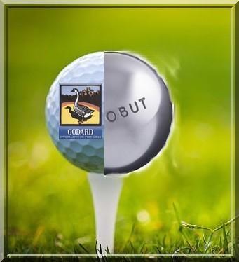 Balle boule tee voeux pétank-golf