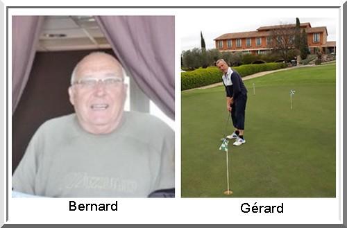 Bernard Batut gerard Lagarde pétank-Golf 2018