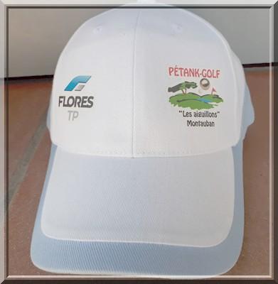 Bienvenue casquette Pétank-Golf 2019