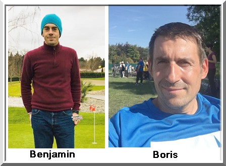 Boris Delfau Benjamin Vandenplas pétank-golf