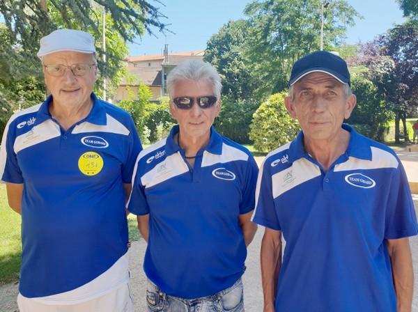 vétérans carmaux team godard 2019