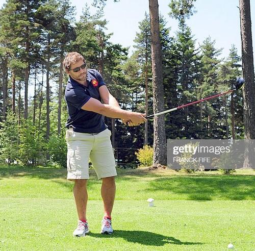 Cedric heymans parrain pétank-golf 2020