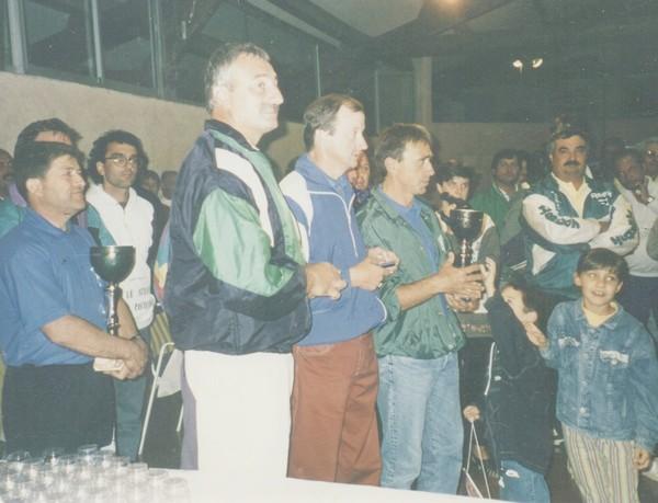 Champions de France sncf pétanque 1994