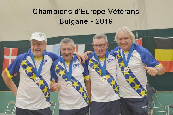 Champions d europe veterans 2019 en bulgarie