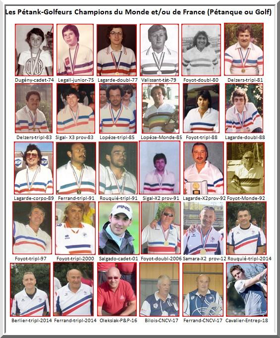 Champions petank golf 2019