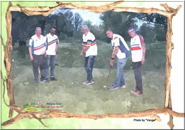 Champions petanque au putting vangel pétank-golf 2019