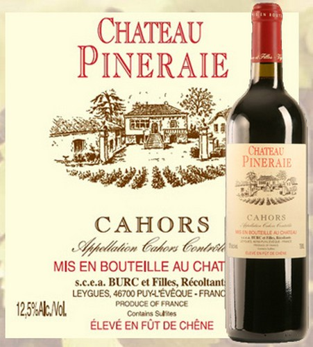 Chateau pineraie