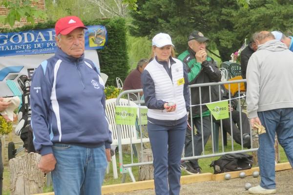 Christel concentree pétank-golf 2019