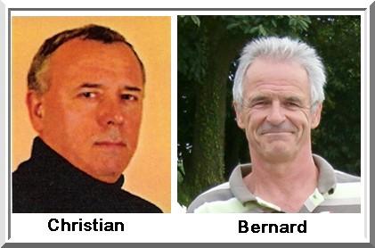 Christian Laigneau Bernard Roulé pétank-Golf 2018