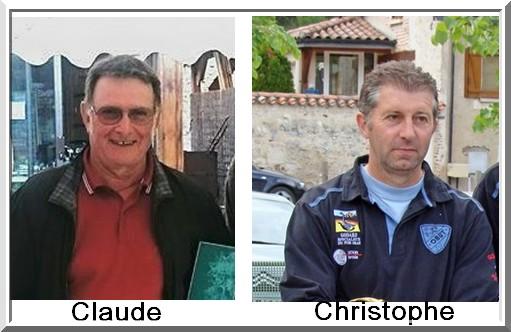 Claude Boudou christophe Penchenat Pétank-Golf
