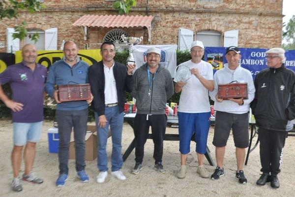 les Co vainqueurs pétank-golf 2017