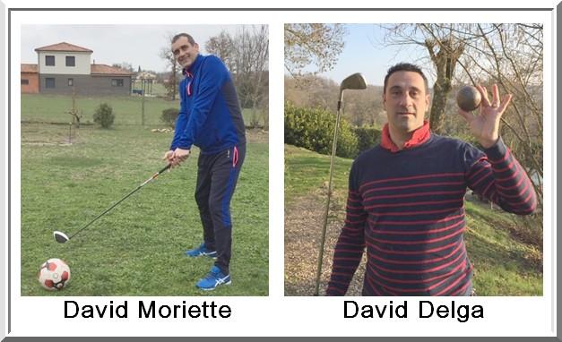 David Moriette et David Delga Pétank-Golf