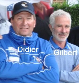 Didier Gaston-Carrére gilbert Canille pétank-golf