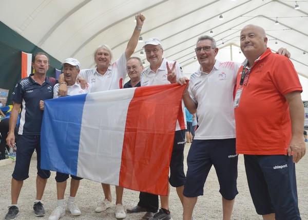 Drapeau français les vieilles canailles