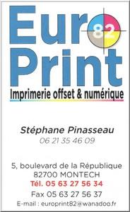 Europrint82 soutien notre Pétank-Golf 2019