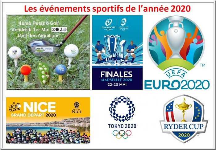 Evenements sportifs pétank-golf