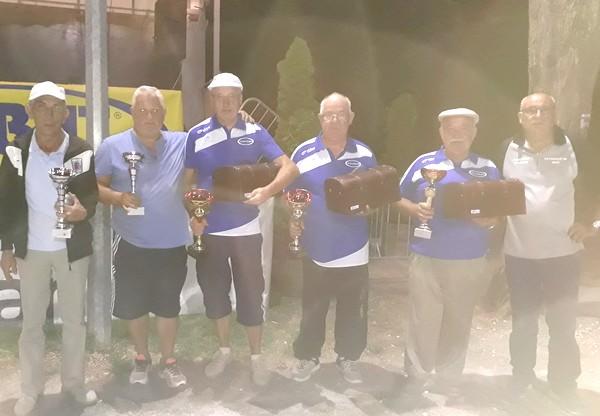 Finalistes USM pétanque 2017