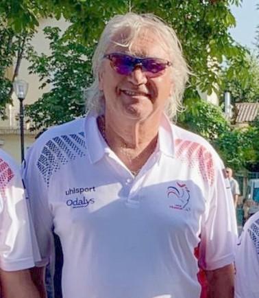 Foyot équipe france vétérans albéna 2019