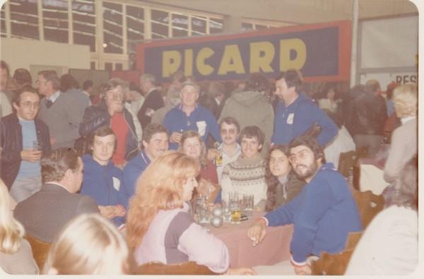 Championnat du monde pétanque triplettes à Gand 1981