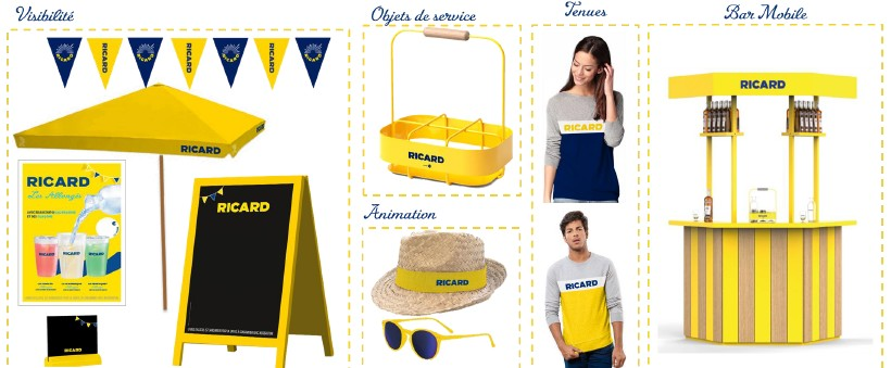 Goodies ricard pétank-golf 2018 ardus-plage