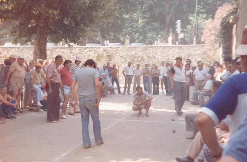 Souvenir Grimaldier aix-en-Provence 1984