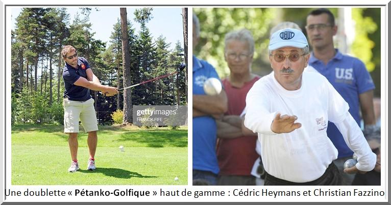 Heymans fazzino pétank-golf 2020