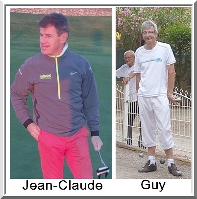 Jean claude depreux guy Lagarde pétank-golf
