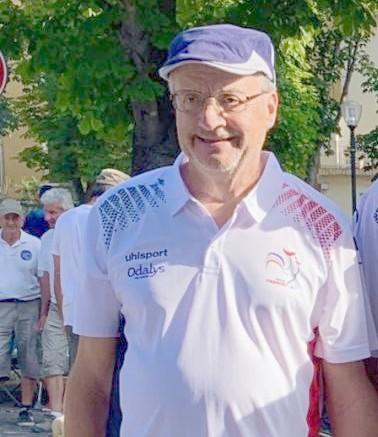 Lagarde équipe de france vétérans albéna 2019