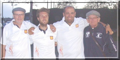 Vainqueurs Ligue 2016 à Lalanne-Arqué (32)